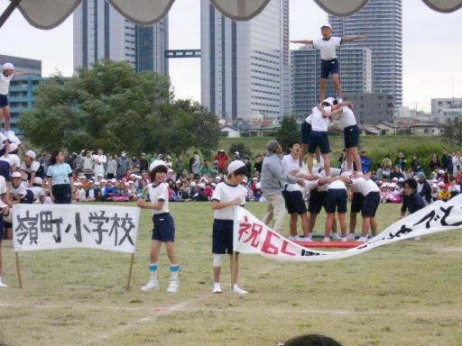 嶺町小学校の運動会2