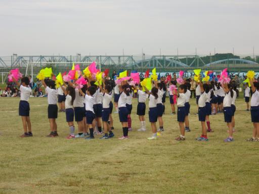 嶺町小学校の運動会1