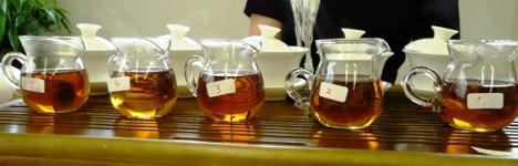 私蔵茶ー飲み比べ