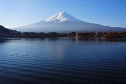 河口湖から見た富士山1s