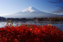 河口湖から見た富士山2s