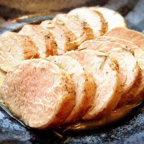 豚ヒレ肉のロースト・ローズマリー風味
