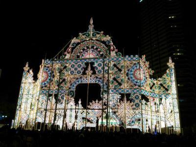 神戸ルミナリエ2012 広場