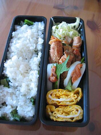 豚ローズ野菜巻き【夫弁当】