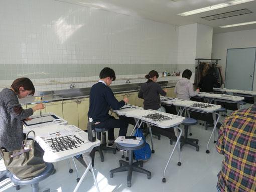 教室の練習風景3