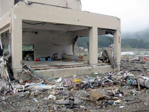 2008年8月 石巻市雄勝町の町並み5