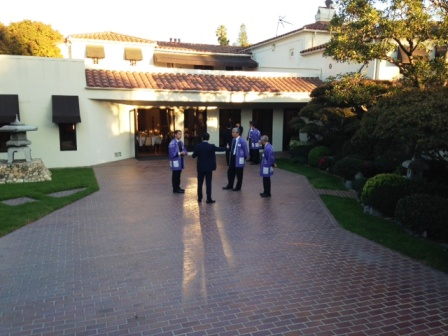 LA日本領事公邸