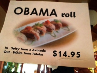 Obama Roll