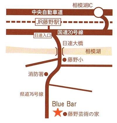 BlueBar案内図