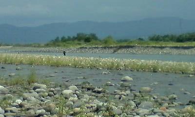 手取川の風景