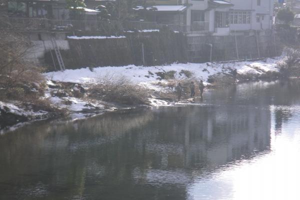 吉田川のフライマン