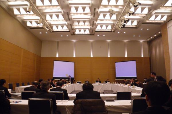 岐阜県の長良川河口堰調査検討会