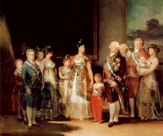 カルロス四世家族像