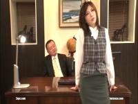 【沖田杏梨】特命係長の巨乳痴女版が実在することが判明www