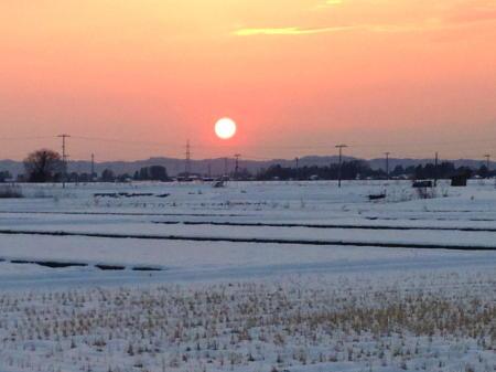 2013/01/16 夕日