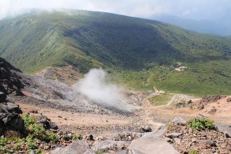 火山活動継続中なのです。