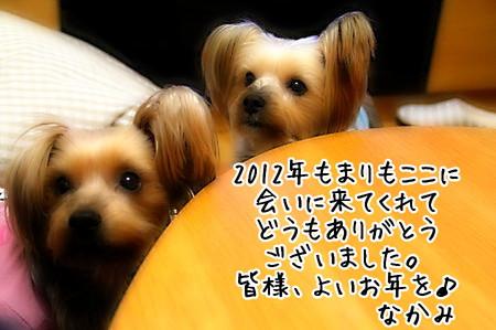 2012年しめくくり。