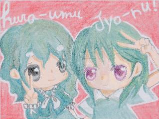 ジョーヌとフラーウム