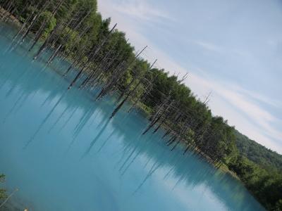 112.青い池