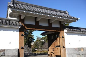 小田原城 入り口