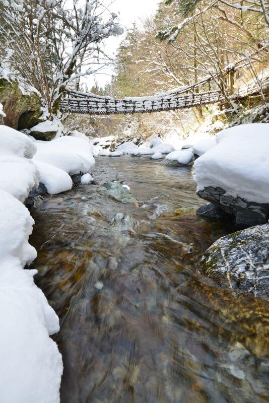 奥祖谷二重かずら橋2 (徳島県東祖谷)