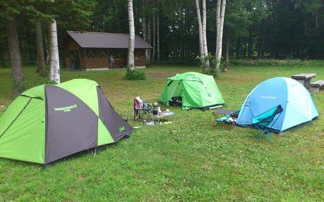 阿寒湖キャンプ場