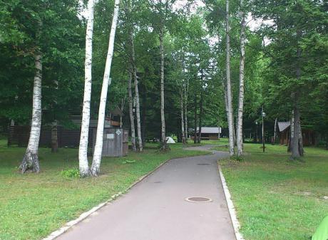 阿寒湖キャンプ場2