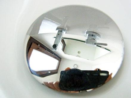 20140117洗面金具を磨く-5