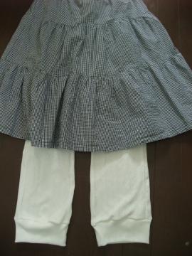 スカートと