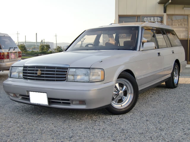 1994年クラウンワゴン・ベンチシートコラムシフトモデル