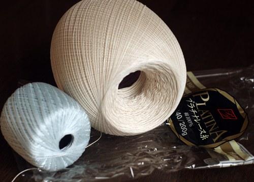 プラチナレース糸