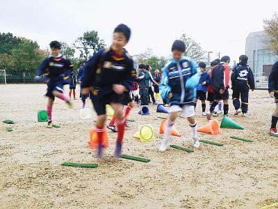 親子サッカー1