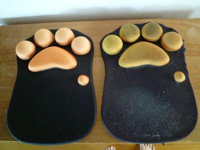 新旧マウスパッド