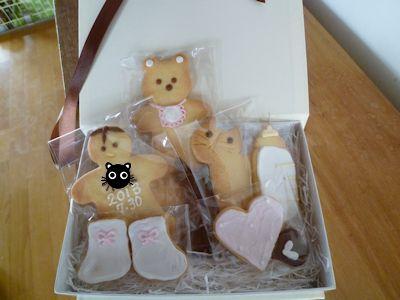可愛いクッキー