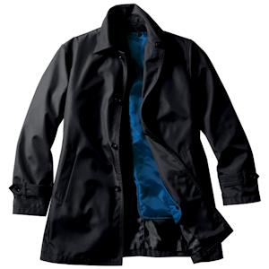 買ったステンカラーのコート
