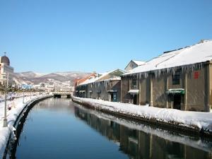 冬の小樽運河