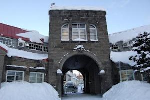 冬の余市蒸留所