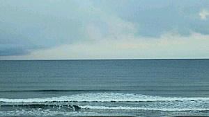 長万部の海