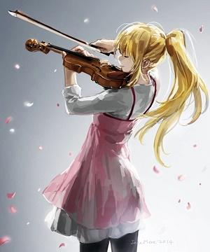 ヴァイオリンとかをり