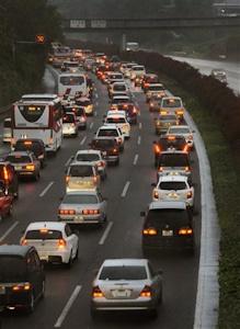 長期休暇といえば渋滞