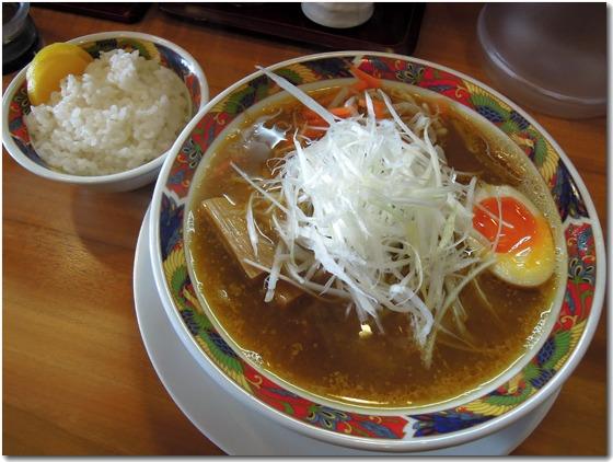 ネギ味噌白湯+ご飯