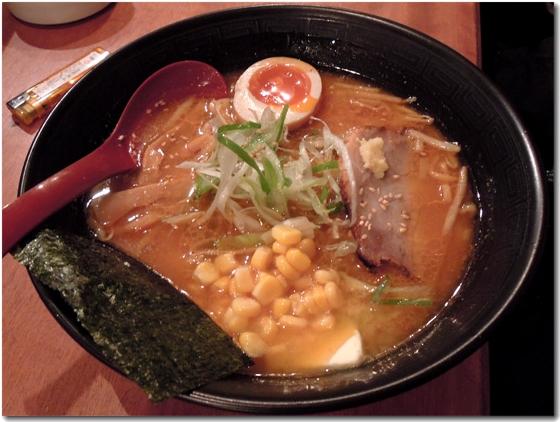 豚骨味噌ラーメン・コーンバター