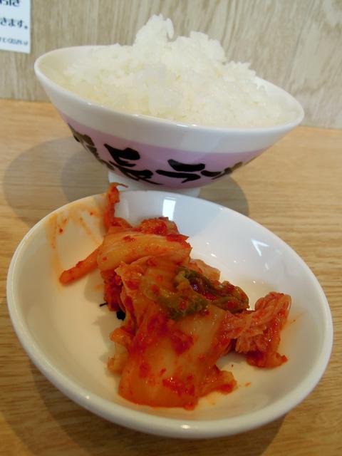 キムチ・ご飯