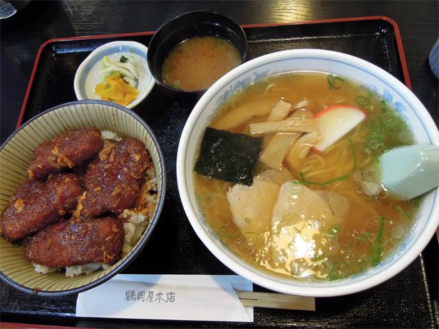中華そば&カツ丼