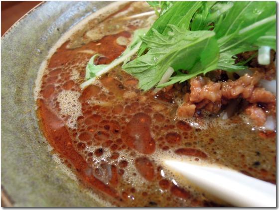 黒ごま味噌担々麺2