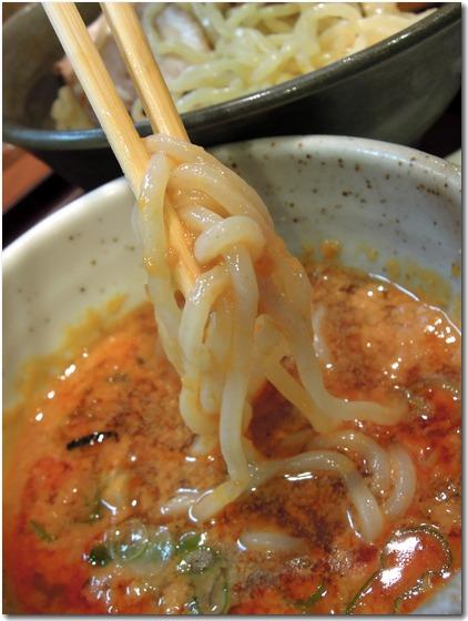 担々つけ麺 麺拡大2