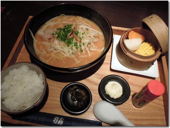 札幌味噌ラーメン定食