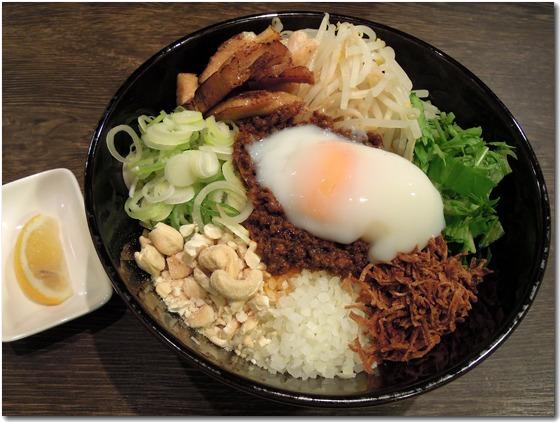 まぜそば四川ジャンク麺
