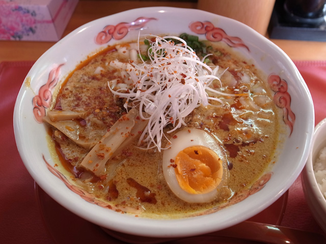 カレー担々麺1