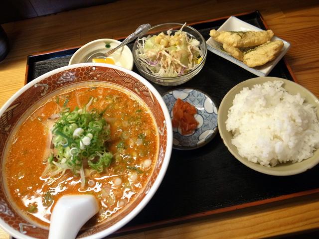 タンタン麺Aセット